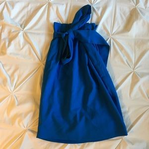 Paperbag waist pencil midi skirt (worn once)